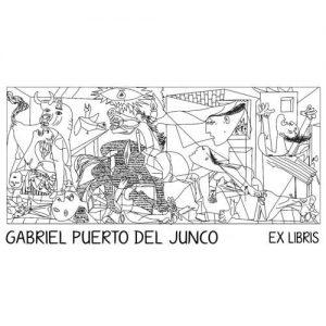 Sello ex libris Guernica