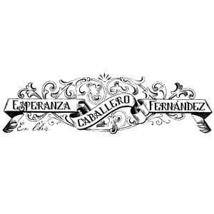 Sello ex libris Orlas y filigranas n3