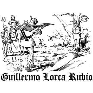 Sello ex libris Guillermo Tell