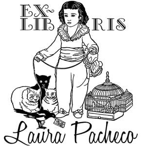 Sello ex libris Goya Don Manuel
