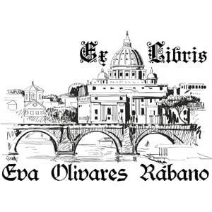 Sello ex libris Vaticano