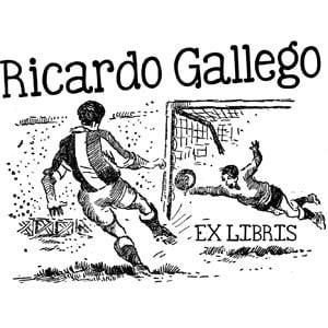 Sello ex libris Futbol