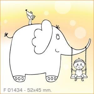 Sellos Aladine El elefante columpio F-01434
