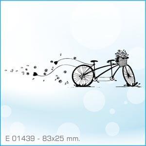 Sellos Aladine Bicicleta tandem E-01439