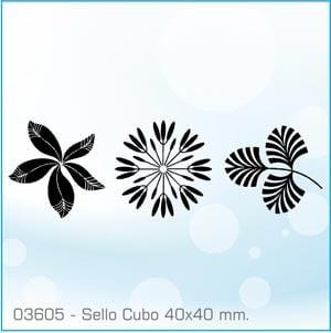 Sellos Cubo Gramíneas 03605