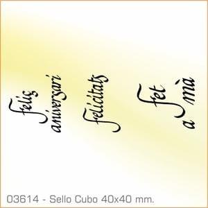 Sellos Cubo Palabras Catalanas 03614