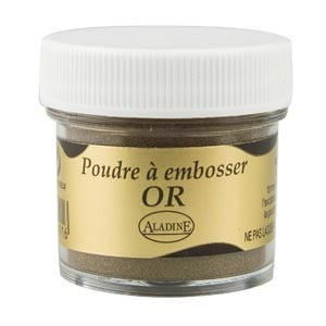 Polvos relieve embossing Aladine Oro 10191