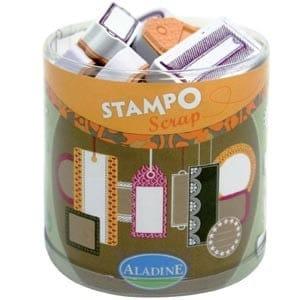 Stampo Scrap Etiquetas