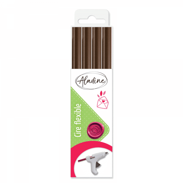 lacre aladine marron chocolate