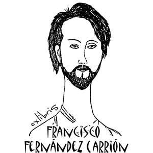 Sello ex libris Modigliani