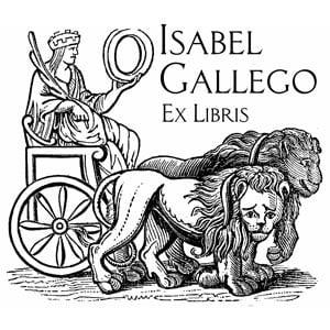 Sello ex libris Cibeles