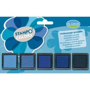 Stampo Colors Camaieu Azul 19004