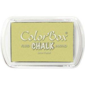 Mini tampón Colorbox Lime Pastel