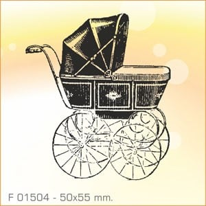 Sello Aladine Carrito de Bebé F-01504