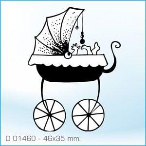Sello Aladine Cochecito Bebé D-01460