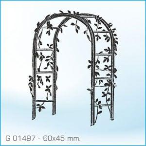 Sello Aladine Arco de Flores G-01497