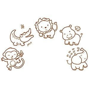 Stampo Baby Animales de la sabana