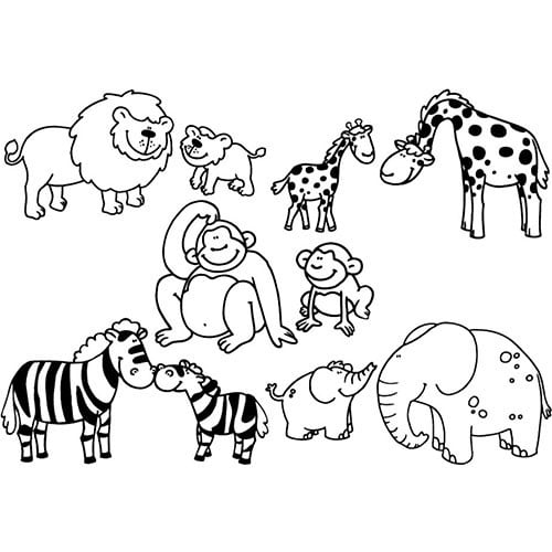 Stampo Minos Animales de la Sabana