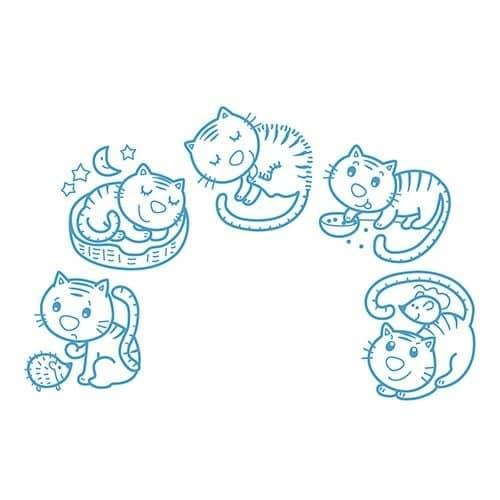 Stampo Baby Día del gatito