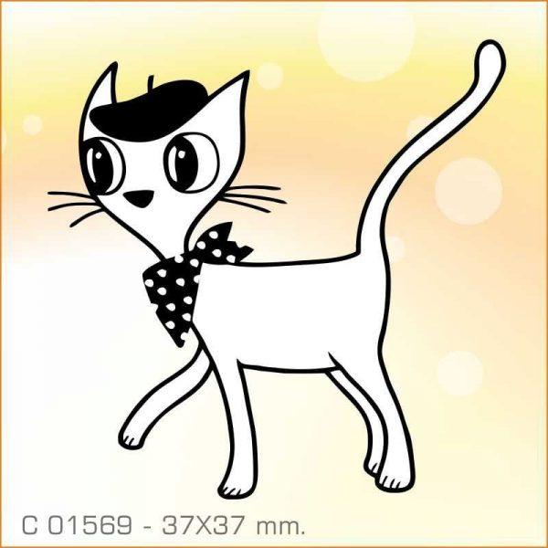 Sello Aladine gato elegante