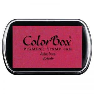 Tampon estándar Colorbox scarlet 15014
