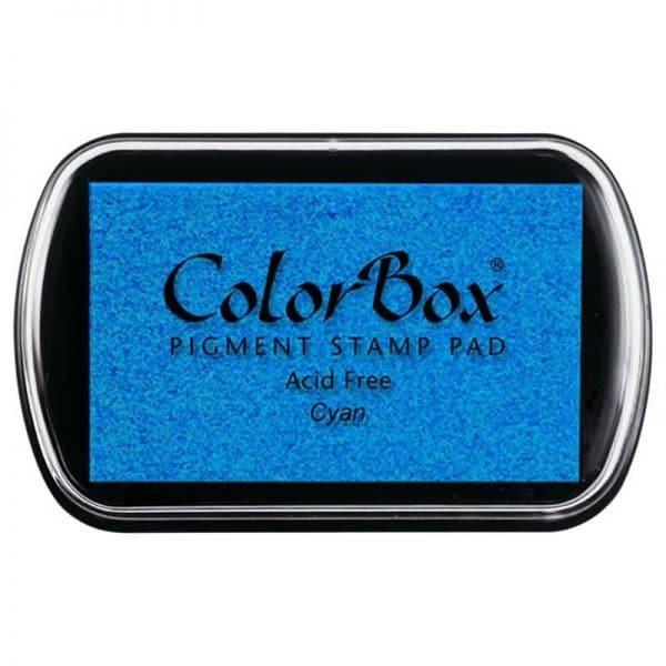 Tampon estándar Colorbox cyan 15019