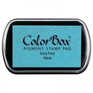 Tampon estándar Colorbox Aqua 150939