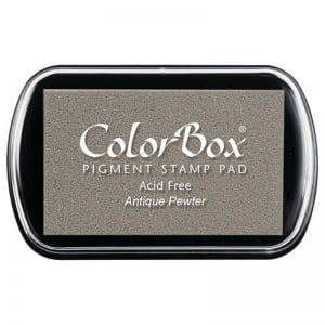 Tampon estándar Colorbox Antique Pewter 15068