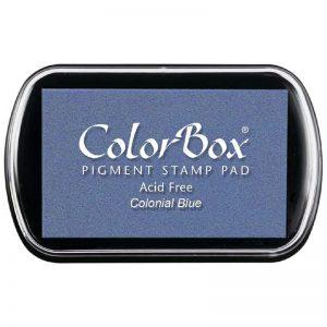 Tampon estándar Colorbox Colonial Blue 15076