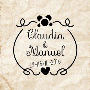 Sello boda Enredo