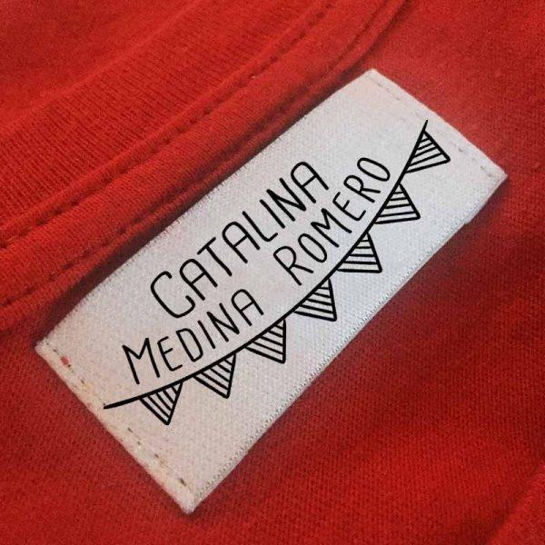 sello ropa automático banderola