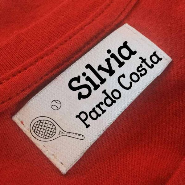 sello ropa automático Tenis