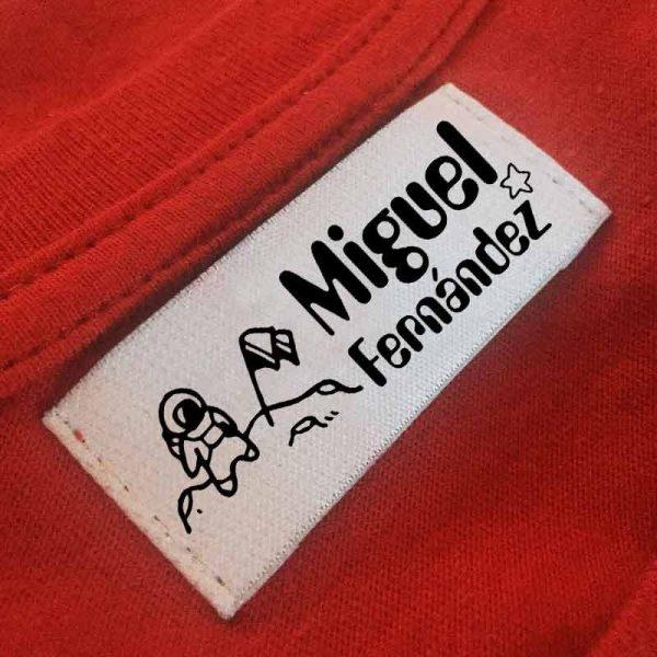 sello ropa automático astronauta