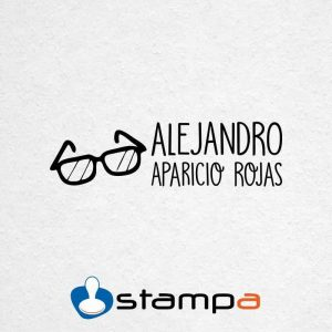 sello ropa automático gafas
